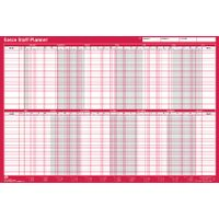 Sasco Mounted 2019 Staff Wall Planner - 2401943