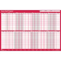 Sasco Unmounted 2019 Staff Wall Planner - 2401944