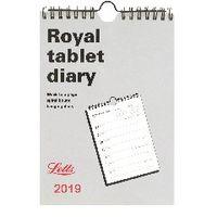 Letts A5 Royal Tablet Calendar - 19-TRT