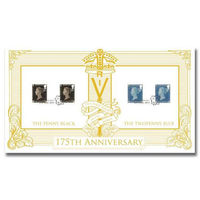View more details about 175th Anniversary of the Penny Post Stamps First Day Cover - BC522A