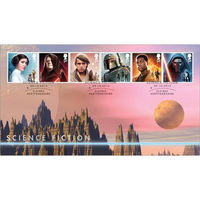 The Science Fiction 2 Stamps First Day Cover - BC532A