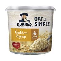 View more details about Quaker Oat So Simple 57g Golden Syrup Porridge Pots, Pack of 8 - 121256