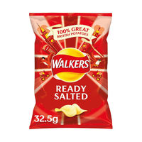 Walkers Ready Salted Pack of 32