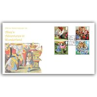 View more details about The Alice In Wonderland Red Queen First Day Cover - BC516