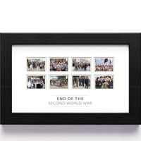 View more details about The End of the Second World War Framed Stamp Set