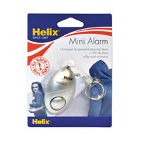 View more details about Helix Mini Personal Alarm Silver PS1070