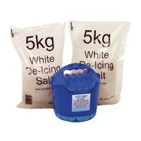 Handheld Salt Shaker and 2 x 5kg White Salt - 389106