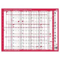Sasco 2020 Unmounted Super Compact Year Planner - 2410103