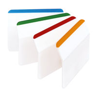 View more details about Post-it Assorted Flat Index Filing Tabs, Pack of 24 | 686-F1