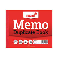 View more details about Silvine Carbon Memo Duplicate Book, 100 Pages (Pack of 12) - 603
