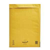 Mail Lite J6 Bubble Envelope in Gold - 300mmx440mm - Pack of 50