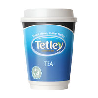 Nescafe and Go Tetley Tea Cup, Pack of 16 - 12223433