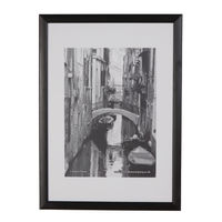 View more details about TPAC A3 Black Wood Non-Glass Photo Frame - PAWFA3B-BLK