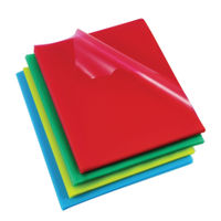 View more details about Rexel Cut Flush Folders Polypropylene A4 Assorted(Pack of 100) 12216AS