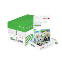 Xerox Recycled White A4 Paper, 80gsm - 2500 Sheets / 1 Box - 003R94565