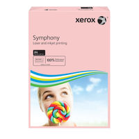 Xerox Symphony Pastel Pink A4 Paper, 80gsm, 500 Sheets - 003R93970