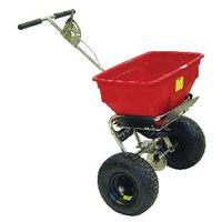 View more details about Salt Spreader 57kg Rain Cover Red 380946