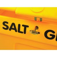 View more details about Yellow Lockable Salt and Grit Bin Yellow 200 Litre 317063