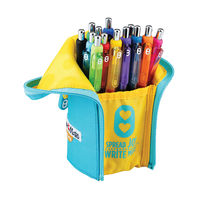 View more details about Paper Mate Inkjoy Blue and Yellow Pencil Case – PMTECASE