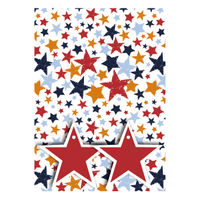 View more details about Stars Gift Wrap and Tags, Pack of 12 - 27240-2S2T