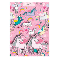 View more details about Unicorns Pink Gift Wrap and Tags, Pack of 12 - 27237-2S2T