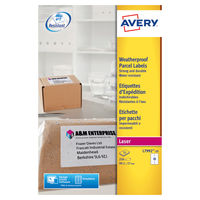View more details about Avery White Weatherproof Shipping Labels, 99.1 x 57mm (Pack of 250) - AV04912