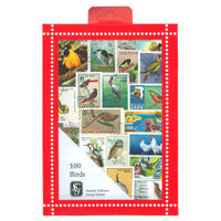 Bird Stamps Collection, 100 Stamps - R3652