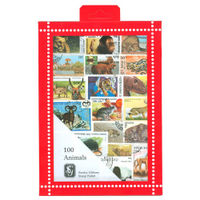 Animal Stamps Collection, 100 Stamps - R3651