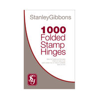Stanley Gibbons Folded Stamp Hinges - Pack of 1,000 - R2551