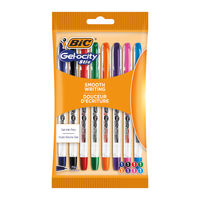 View more details about Bic Gelocity Assorted Gel Ink Pens (Pack of 8) - 992602