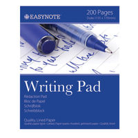 Tallon 200 Pages Lined Duke Pads, Pack of 12 - 3254/72