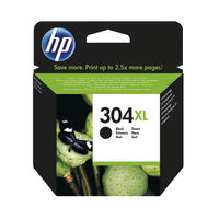 HP 304 XL Black Ink Cartridge - High Capacity N9K08AEBGX