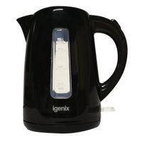 View more details about Igenix Black Cordless Jug Kettle 1.6L - MK52196