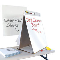 View more details about Post-it Table Top Meeting Chart/Dry Erase Whiteboard - 3M02977