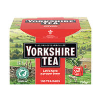 View more details about Yorkshire Tea String and Tag Tea Bags, Pack of 100 - 2680UK