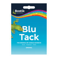 View more details about Bostik Blu Tack Handy Pack 60g, Pack of 12 - 801103