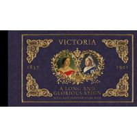 The Queen Victoria Bicentenary Prestige Stamp Book