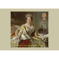The Queen Victoria Bicentenary Stamp Card Pack