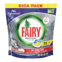 Fairy Platinum Dishwasher Tablets, Pack of 75 - 8001090215512