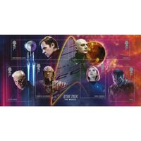 View more details about Star Trek The Movies Miniature Sheet