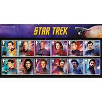 View more details about Star Trek Presentation Pack and Miniature Sheet