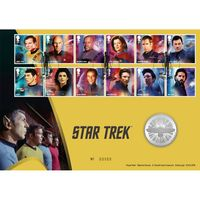 View more details about Star Trek Medal Cover