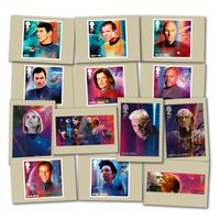 View more details about Star Trek Stamp Card Pack