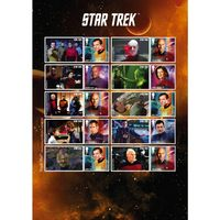 View more details about Star Trek Captains Collectors Sheet
