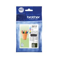 Brother LC3217 Ink Cartridge Multipack - LC3217VAL