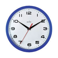 View more details about Acctim Aylesbury Blue Wall Clock - 92/308