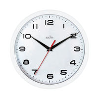 View more details about Acctim Aylesbury White Wall Clock - 92/301