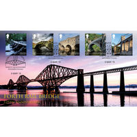 Forth Rail Bridge Stamps First Day Cover - BC520
