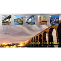 View more details about The Royal Border Bridge Stamps First Day Cover - BC520A