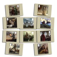 View more details about The Legend of King Arthur Stamp Card Pack